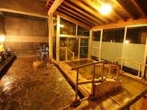 【家族風呂】風の湯 夜2