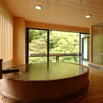 展望風呂付客室の一例