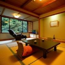 展望風呂付客室*美しい四季をお部屋からも