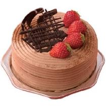 ★記念日・お祝いに人気のオプション★クラシックチョコレート。メッセージも入れられます(画像イメージ)