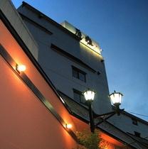 外観*夕暮れの原瀧