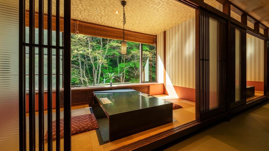 ■ダイニング瀧川■客席一例。和の趣のお食事処です ※お席のご指定はいただけません。