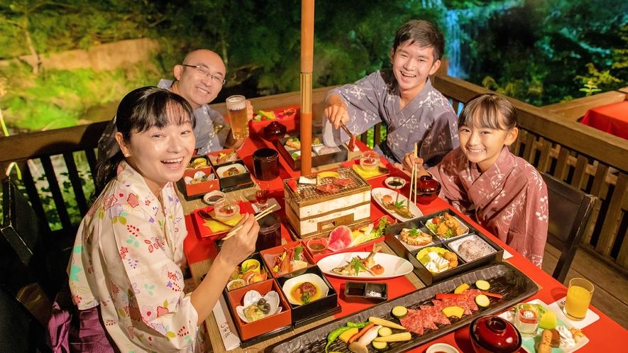 ■水辺のダイニング 川どこ■非日常空間で愉しむ会津の食の数々。大切な人との想い出に。