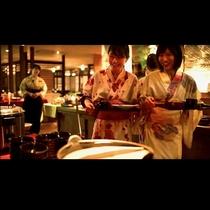 ダイニング瀧川*お料理コーナーでお好きなものをお好きなだけ・・・