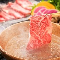 ■福島牛のしゃぶしゃぶ■福島が誇るブランド牛『福島牛』と新鮮地元野菜を堪能する。
