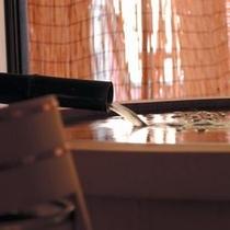 露天風呂付客室の一例