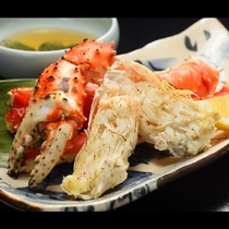 【タラバ蟹の焼物-追加料理-】