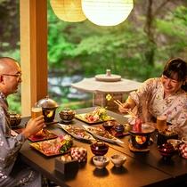 ■個室会食場 一例■