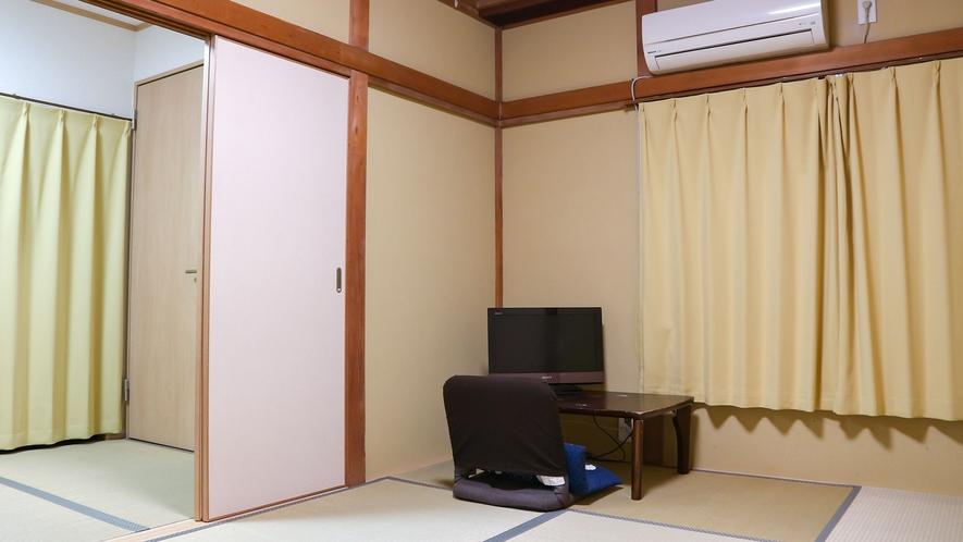 *【和室8畳(客室一例)】ファミリーでのご利用も◎リラックスした空間でおくつろぎ下さい