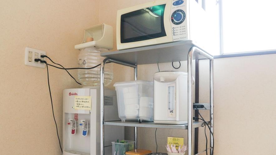 *【共有サービス】冷蔵庫や洗濯機など、長期滞在のお客様に嬉しいサービスもご用意しております!