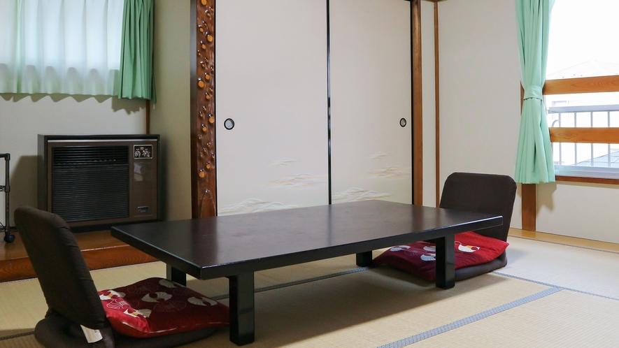 *【和室8畳(客室一例)】ファミリーでのご利用も◎リラックスした空間でおくつろぎ下さい。