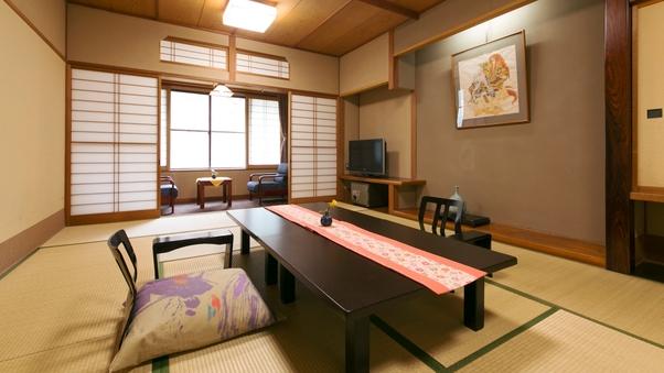 スタンダード和室12畳+広縁付(バス・トイレ付)【客室食】