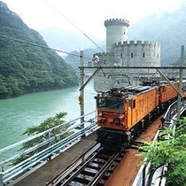 人気のトロッコ電車は4月から運航開始!