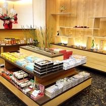 3階売店 宇奈月温泉の思い出にお土産を・・・