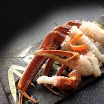 本ずわい蟹洗い2