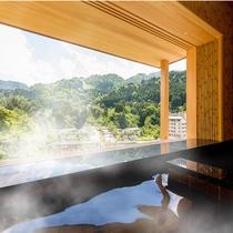 【露天風呂付客室】眺望