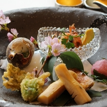 食 温泉 自然 おいしく愉しむ宇奈月温泉の春!