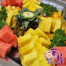 【朝食バイキング】新鮮なフルーツもたくさん♪