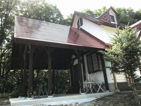 貸別荘コテージ・1棟2階建3ベットルーム【BBQハウス付】