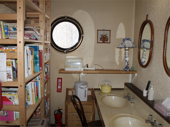 2階洗面所付近
