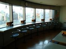 8階ラウンジ カウンター