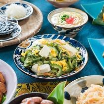 石垣島ならではの朝食
