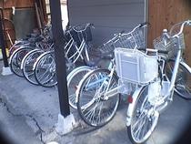 無料貸し出し自転車