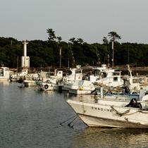 佐久島の港
