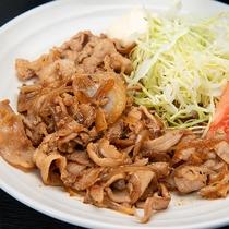 *ご夕食(一例) 焼肉定食