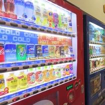 *1階 自販機(ジュース・アイス・アルコール類)