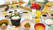 お料理イメージ・和朝食(ハーフバイキング)