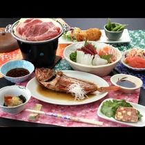 スタンダード■豚しゃぶと旬の魚介類を使った、基本のコース