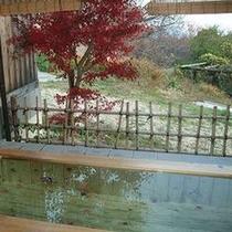 貸切露天で紅葉を眺めながらゆ〜ったり♪