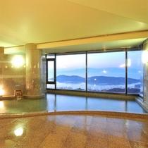 眺望が人気★瀬戸内海を見下ろす展望風呂