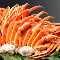 夕食バイキング料理一例 蟹