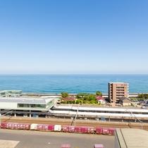 【その他】ホテル屋上からの眺め