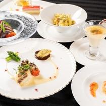 【レストラン】ディナー海鮮づくし
