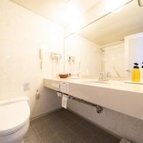【客室】バスルーム/トイレ(デラックスツイン)