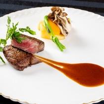 【レストラン】ディナー肉料理