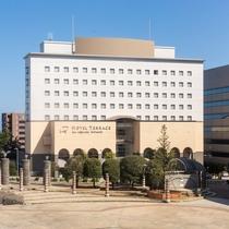 【外観】ホテル正面(昼)