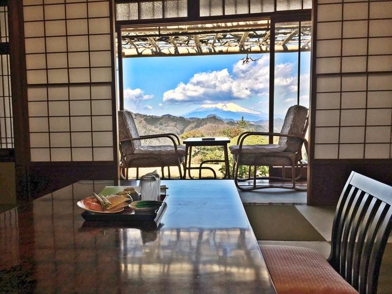 【離れ客室】日本庭園を眺めながらごゆっくりどうぞ