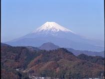 大仁ホテルからの富士山①