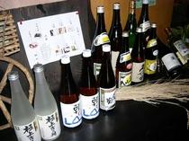 新潟の地酒を販売中! フロントにてご用意しております