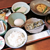 *【朝食一例】豆腐料理が中心の豆腐御膳