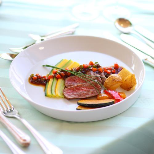 *【洋食一例】お野菜は自家菜園で栽培した食材を使っています(イメージ)