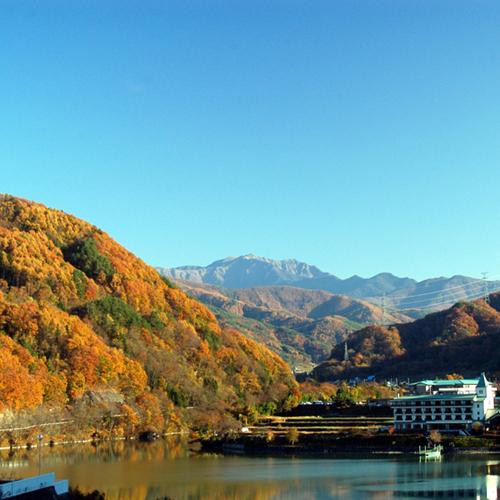 *秋の白山橋