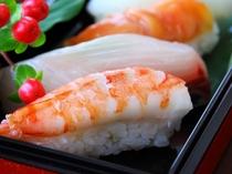 特別な日にはお寿司もご用意♪(和食例)