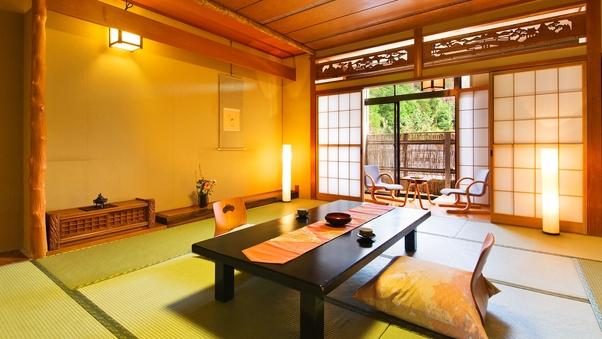 【露天風呂付き和室◇花の館】〜客室ごとに趣きの異なるお風呂〜