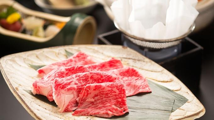 グルメ三昧◇贅沢会席】<松阪牛の鉄板焼+すき焼>2種類の味わいを食べ比べ♪旨さぎっしり食べ尽し