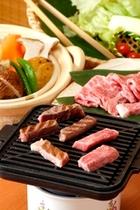 特選料理松阪牛とご当地温泉野菜蒸し